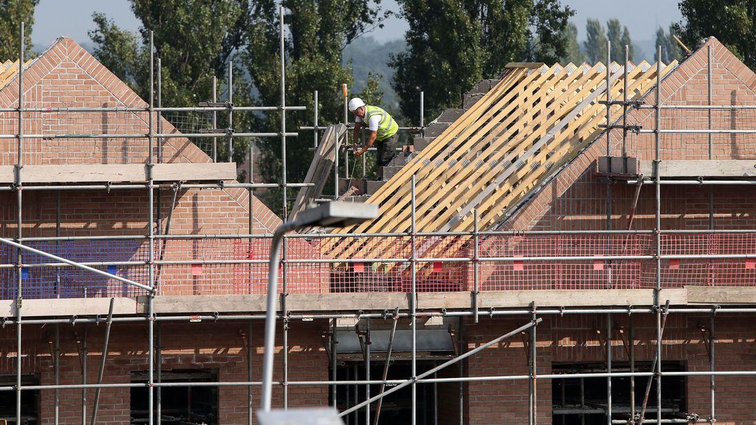 UK construction worker