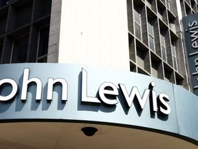 The John Lewis store in Oxford Street, London
