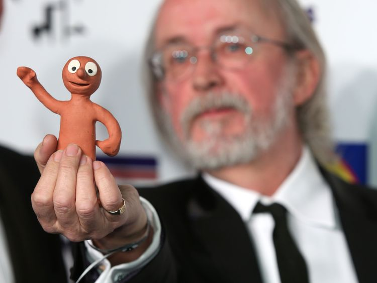 Creator of 'Morph' Peter Lord attends The British Comedy Awards