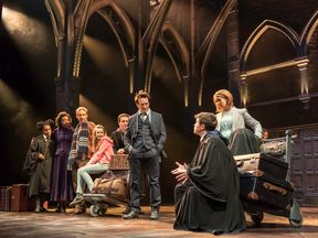 A scene from the West End production of the new play Harry Potter and the Cursed Child, photo by Manuel Harlan