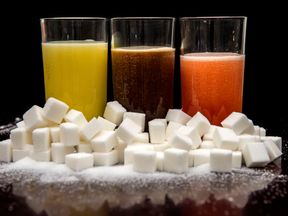 Sugary drinks could be banned from hospitals in England under new plans to tackle the rising number of overweight NHS staff