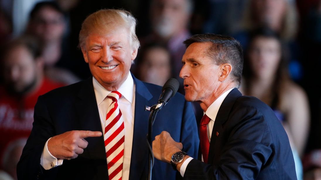 Donald Trump was tipped to offer retired lieutenant general Michael Flynn a top security job