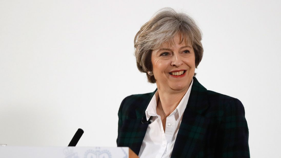 The Prime Minister, Theresa May, sets out her vision of 'a global Britain'.