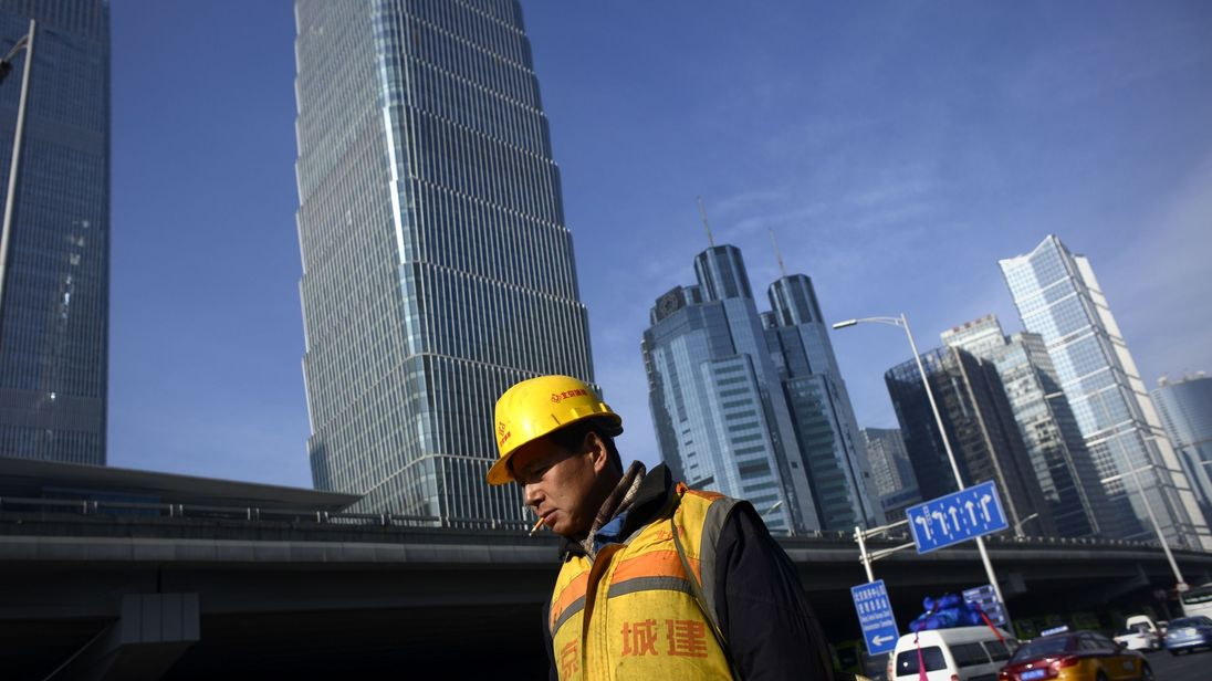 China growth in 2016 was at its weakest level for 26 years