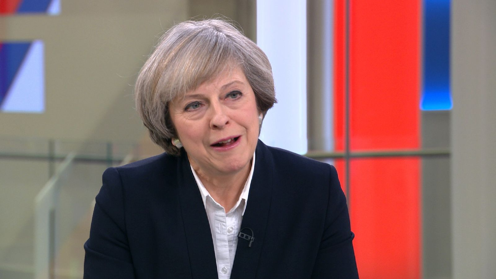 Theresa May: 'I don't accept Red Cross description of NHS'