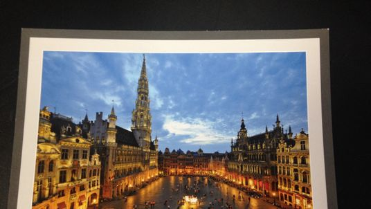 Image to go with Darren McCaffrey's Brexit postcard from Brussels