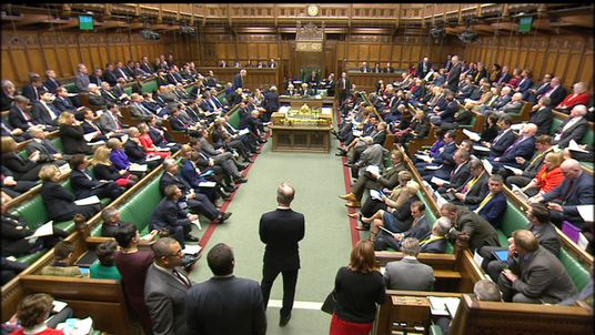 David Davis makes statement in the Commons