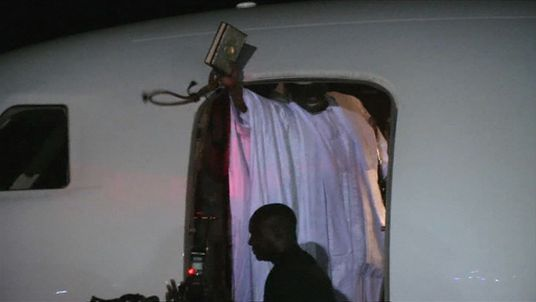 Former Gambian president Yahya Jammeh finally leaves steps down, boarding a plane for Equatorial Guinea