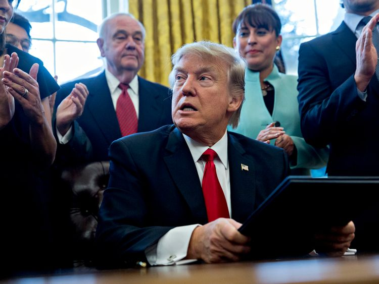 Donald Trump signs yet another executive order on 30 January