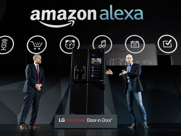 Alexa will be integrated into LG's next smart fridge
