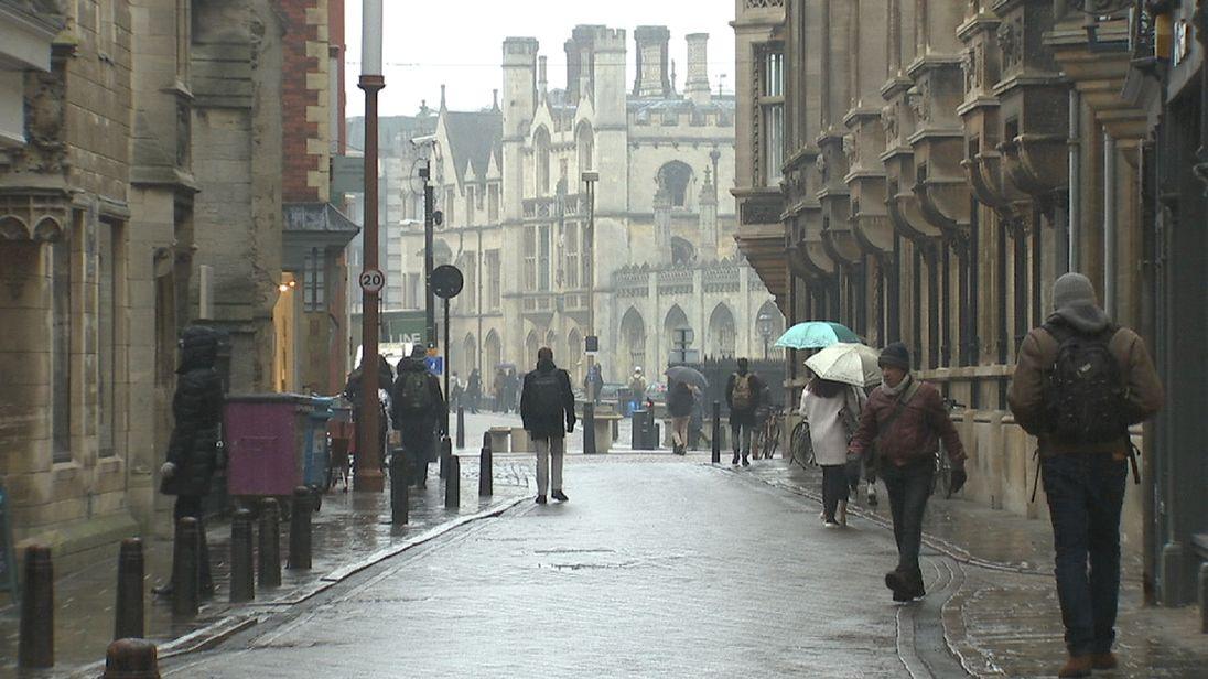 Sophy Ridge visits Cambridge where the Remain spirit looms large