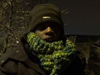 Sudanese Khalid says he is 16 and wants to reach the UK