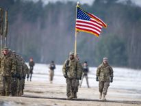 US forces training in Poland in January
