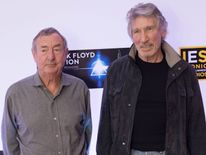 Waters and Mason discussed the opening of The Pink Floyd Exhibition: Their Mortal Remains