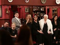 Danny Dyer, Kellie Bright, John Altman, Letitia Dean, June Brown, Pam St Clement and Jessie Wallace of EastEnders