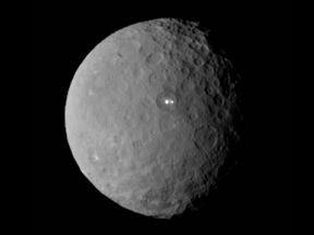 The dwarf planet Ceres