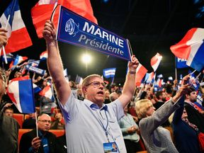 The launch of the Marine Le Pen's presidential campaign on 5 February in Lyon