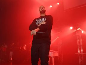 Drake was named best rap/sung performance and best rap song for hit track Hotline Bling