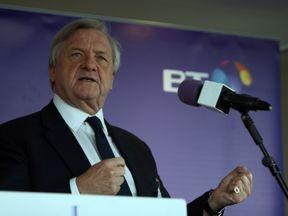 BT chairman Sir Mike Rake