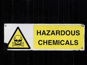 VX is a lethal nerve agent manufactured for chemical warfare and listed by the UN as a weapon of mass destruction