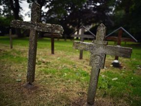 Edinburgh City Council said it would take the 'appropriate steps to bury the bodies'