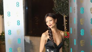 Britain's Thandie Newton of Westworld attended the ceremony at The Grosvenor House Hotel