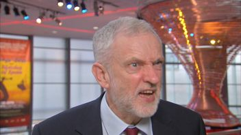 Jeremy Corbyn is unimpressed when repeatedly asked if he will still be Labour leader in 2020