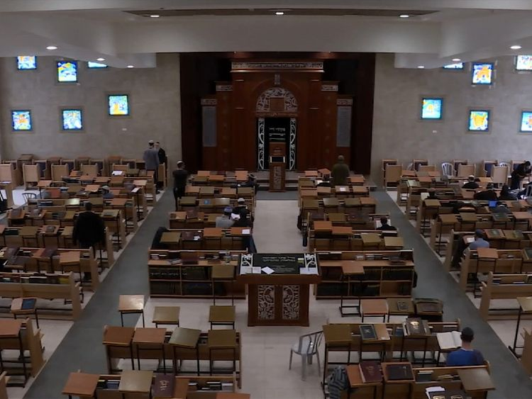 The Yeshiva, the religious school in Bet El, is described as the Harvard of Jewish education