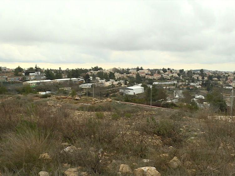 Bet El near Ramallah in West Bank