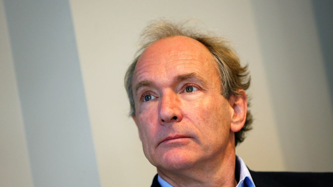 World Wide Web founder Sir Tim Berners-Lee