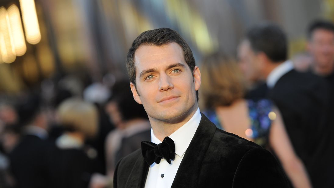 Cavill is best known for playing a certain heroic alien