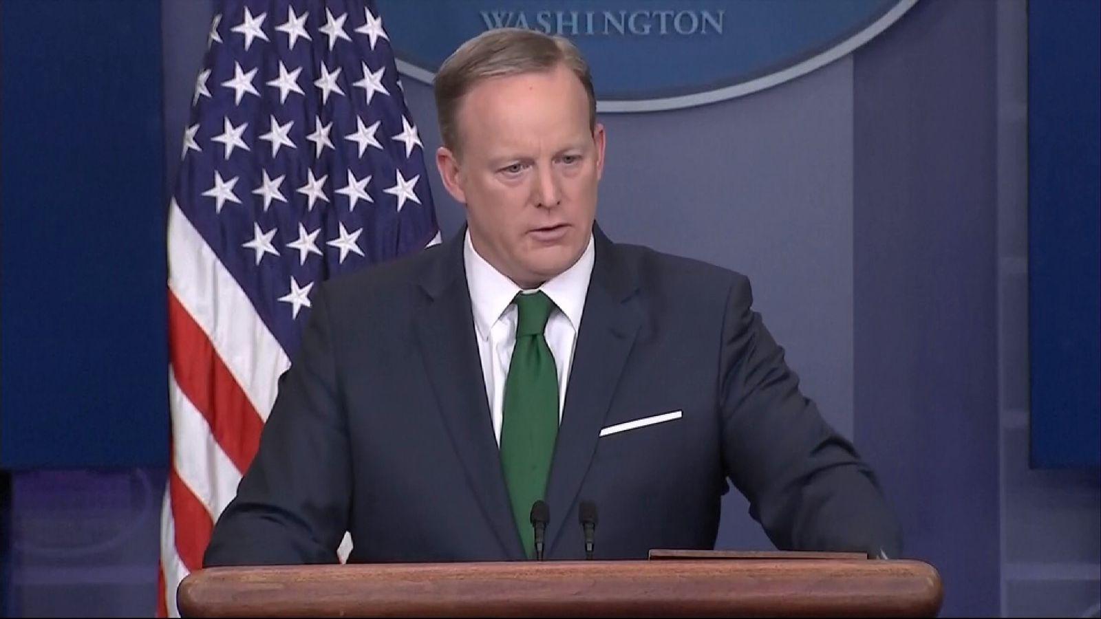 Sean Spicer repeats claims that GCHQ bugged Trump Tower