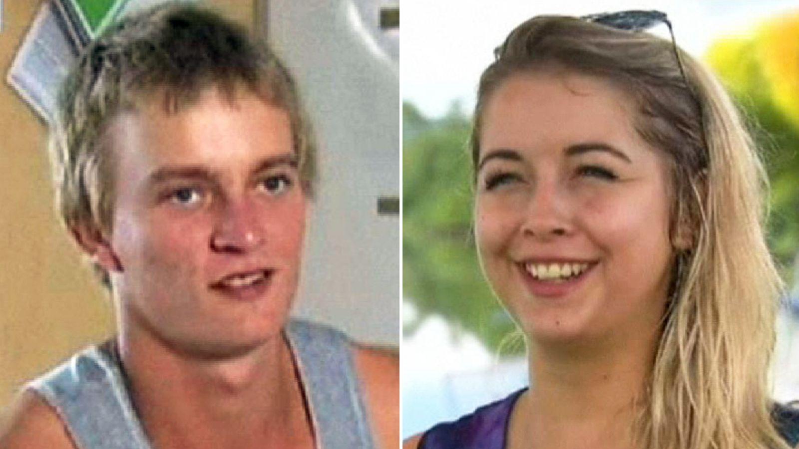 Lee de Paauw and Sophie Paterson. Pic: 9News.com.au