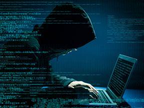A hacker at work