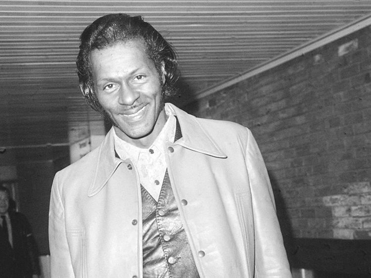File photo dated 01/01/73 of American rock 'n' roll star Chuck Berry