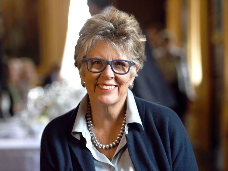 Prue Leith will be the new judge alongside Paul Hollywood