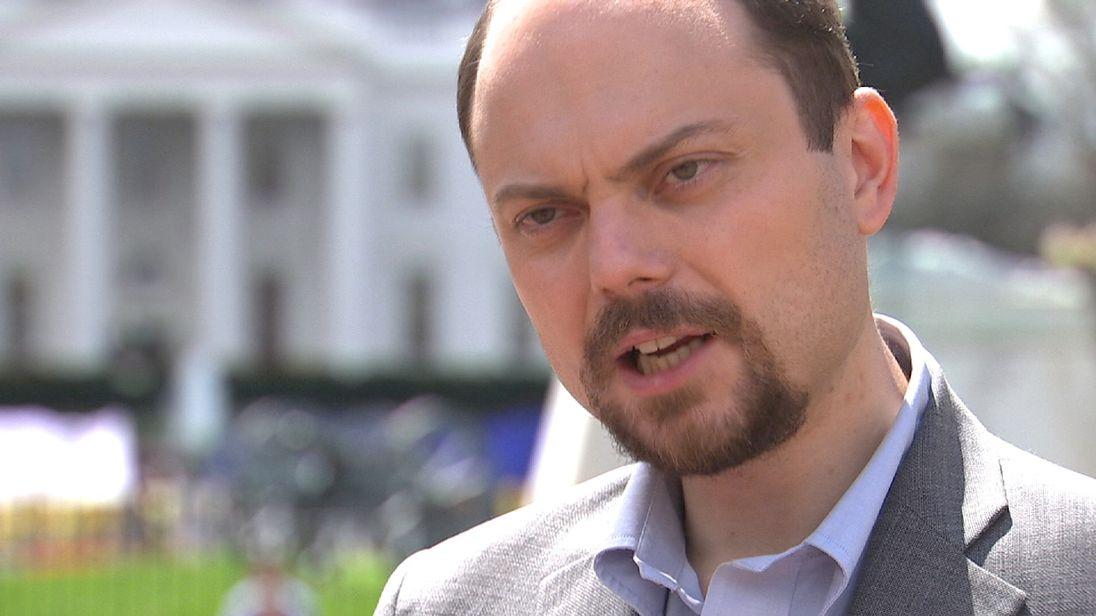 Russian opposition activist Vladimir Kara-Murza