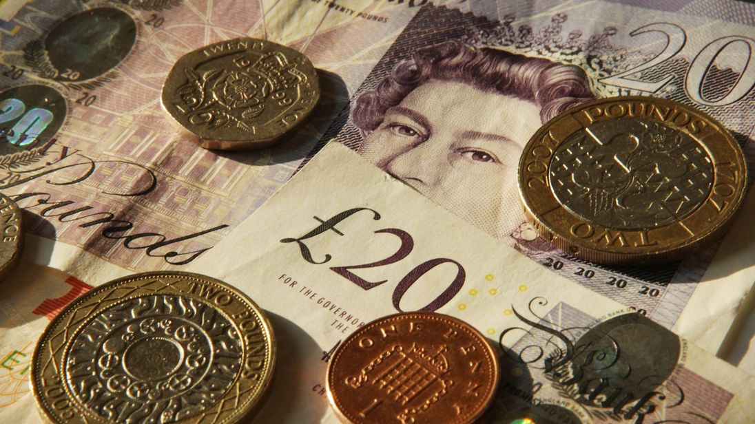 In this photo illustration Sterling notes and coins are displayed together on February 17, 2010 in London, England. As the UK gears up for one of the most hotly contested general elections in recent history it is expected that the economy, immigration, the NHS and education are likely to form the basis of many of the debates