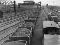 Coal wagons at Nine Elms Station