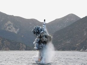 North Korea missile test