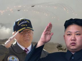 The US and South Korea have been ramping up military displays