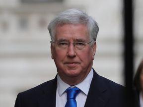 Sir Michael Fallon, UK Defence Secretary