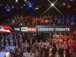 Sky News Leaders' Debate