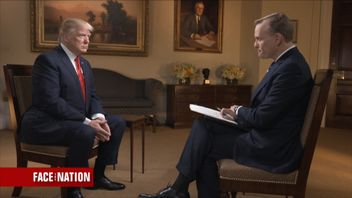 Donald Trump talks to CBS Face The Nation about North Korea