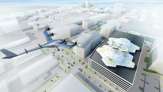 The flying taxi would be able to navigate cities and avoid congested streets