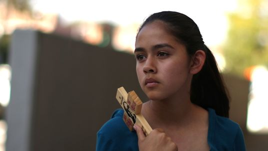 Fatima Avelica, 13, daughter of Romulo Avelica, an immigrant who was arrested he dropped her at school