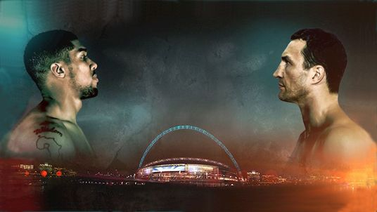 Anthony Joshua and Wladimir Klitschko will take part in a news conference at Sky Central on Thursday