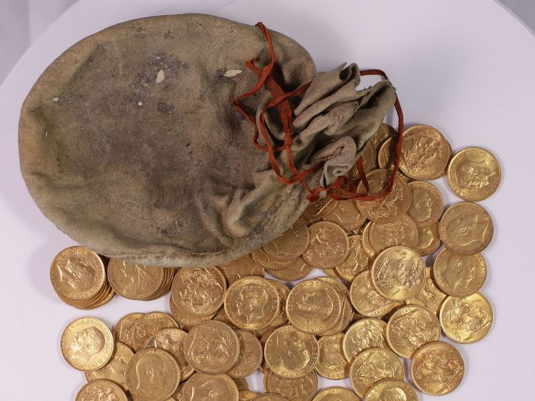 A treasure inquest is being held in Shropshire to determine what should happen to the hoard.