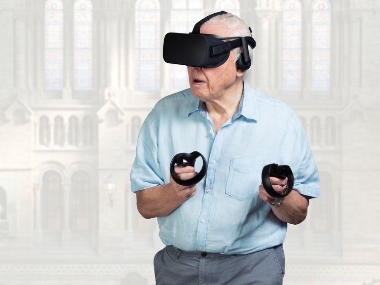 Sky transforms Sir David Attenborough into a virtual reality hologram