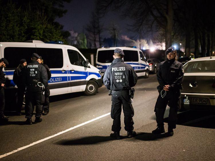 Borussia Dortmund crime scene